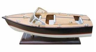 Sea-club Modèle de bateaux à moteur italien 35 cm