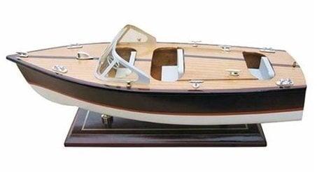 Sea-club Italian runabout boat 35cm