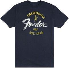 Fender Baja Blue Hudební tričko