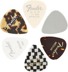 Fender 351 Shape Material Medley Medium 6 Pack