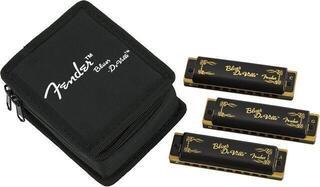Fender Blues DeVille Harmonica 3 Pack