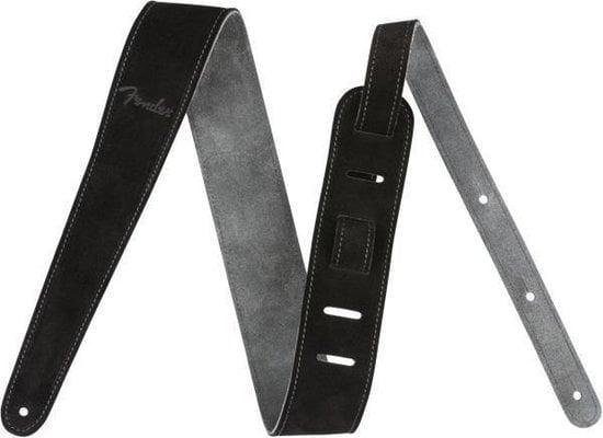 Fender Reversible 2'' Suede Strap Black/Gray