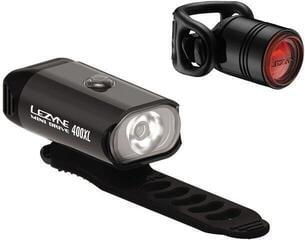 Lezyne Mini Drive 400XL / Femto Drive Pair Black/Hi Gloss