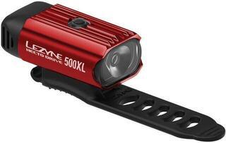 Lezyne Hecto Drive 500XL Red/Hi Gloss