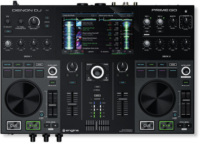 Denon Prime Go Contrôleur DJ