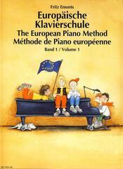 Fritz Emonts Európska klavírna škola 1 plus CD