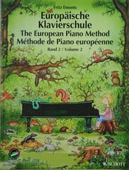 Fritz Emonts Európska klavírna škola 2 plus CD