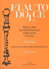 Ladislav Daniel Škola hry na sopránovou zobcovou flétnu 1