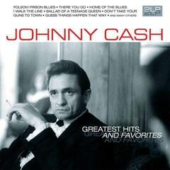 Johnny Cash Greatest Hits and Favorites (2 LP)