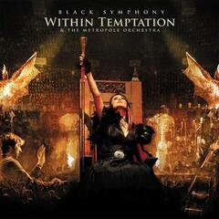 Within Temptation Black Symphony (3 Gold & Red Marbled Coloured Vinyl) (Gatefold Sleeve)
