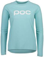 POC Essential MTB Women's LS Jersey Light Kalkopyrit Blue L