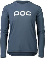 POC Essential MTB Women's LS Jersey Calcite Blue S