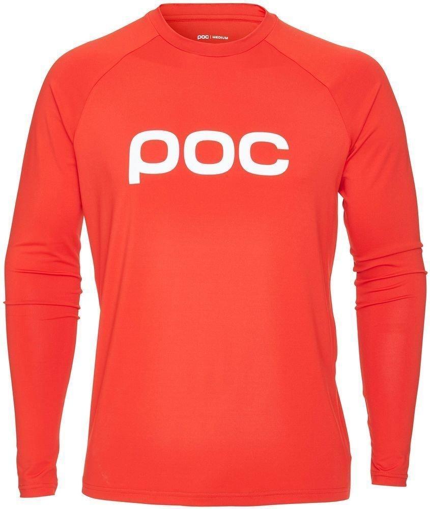 POC Essential Enduro Jersey Prismane Red L