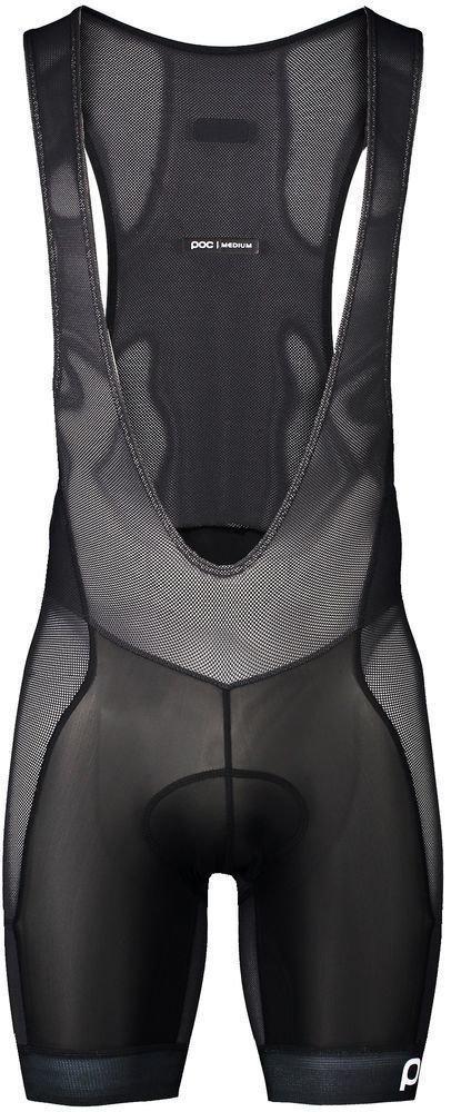 POC MTB Air Layer Bib Shorts Uranium Black L