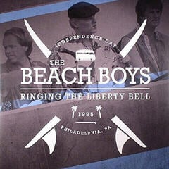 The Beach Boys Ringing The Liberty Bell 1985 Philly (2 LP)