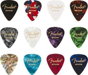 Fender 351 Shape Celluloid Medley Medium 12 Pack