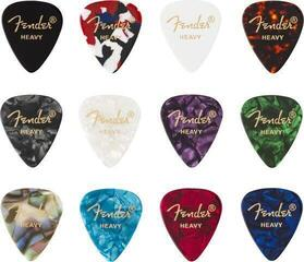 Fender 351 Shape Celluloid Medley Heavy 12 Pack