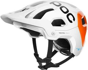 POC Tectal Race SPIN NFC Hydrogen White/Fluorescent Orange AVIP