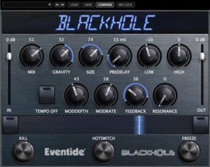 Eventide Blackhole Native Plugin