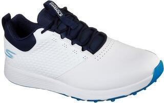 Skechers GO GOLF Elite 4 Mens Golf Shoes White/Navy