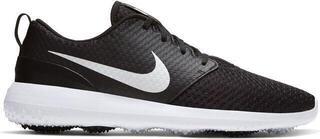 Nike Roshe G Mens Golf Shoes Black/Metallic White/White