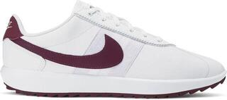 Nike Cortez G Womens Golf Shoes White/Villain Red/Barely Grape/Plum Dust