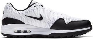 Nike Air Max 1G Mens Golf Shoes White/Black
