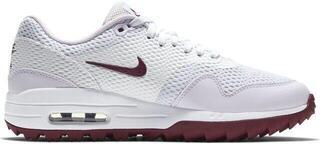 Nike Air Max 1G Damskie Buty Do Golfa White/Villain Red/Barely Grape