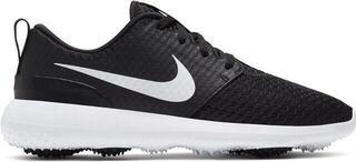 Nike Roshe G Womens Golf Shoes Black/Metallic White/White