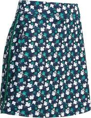 Callaway Mini 3 Color Floral Print Womens Skort Peacoat