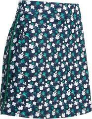 Callaway Mini 3 Color Floral Print Womens Skort Peacoat