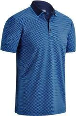 Callaway Golf Bag Print Mens Polo Shirt Peacoat