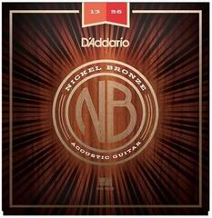 D'Addario NB1356 Nickel Bronze Acoustic Medium 13-56