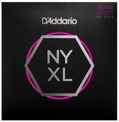 D'Addario Set Long Scale Regular Light 45-100