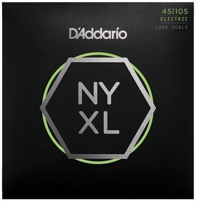 D'Addario Set Long Scale Light Top/Med Bottom 45-105