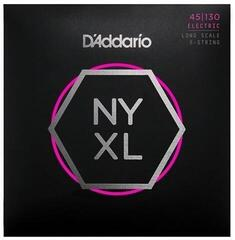 D'Addario Set Long Scale Regular Light 5-String 45-130