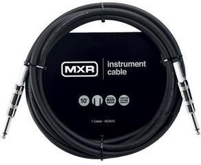 Dunlop MXR Instrument Standard Cable Fekete/Egyenes - Egyenes