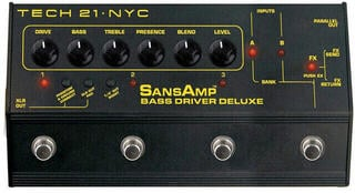 Tech 21 Bass Driver D.I. Deluxe SansAmp