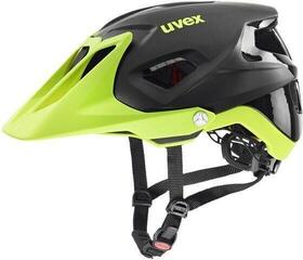 UVEX Quatro Integrale Black/Lime Matt