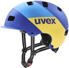UVEX HLMT 5 Bike Pro Blue Energy Matt