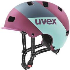 UVEX HLMT 5 Bike Pro Berry Matt