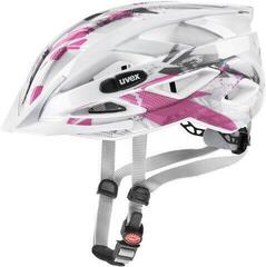 UVEX Air Wing White/Pink/Grey 52-57