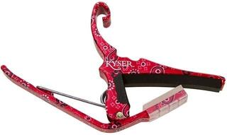 Kyser Capo Quick-Change Acoustic Red Bandana