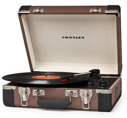 Crosley CR6019A Executive Tweed/Black