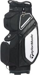 TaylorMade Pro Cart 8.0 Cart Bag Black/White/Charcoal 2020