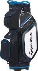 TaylorMade Pro Cart 8.0 Cart Bag Black/White/Blue 2020