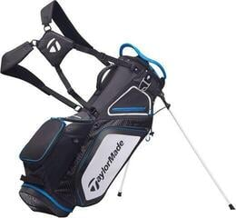 TaylorMade Pro Stand 8.0 Stand Bag Black/White/Blue 2020
