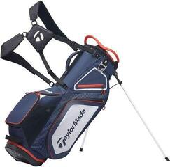TaylorMade Pro Stand 8.0 Stand Bag Navy/White/Red 2020