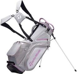 Taylormade Pro Stand 8.0 Stand Bag Grey/White/Purple 2020