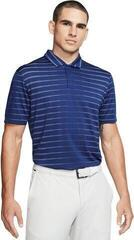 Nike TW Dri-Fit Novelty Mens Polo Shirt Blue Void/White/Black Oxidized